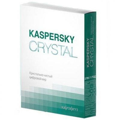 Kaspersky Crystal Russian Edition KL1907RBBFS