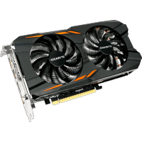 GigaByte nVidia GeForce GTX 1050 2Gb GV-N1050WF2-2GD